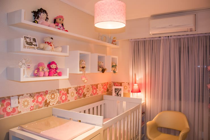 Dormitorios infantiles de estilo moderno de Studio C.A. Arquitetura Moderno Tablero DM