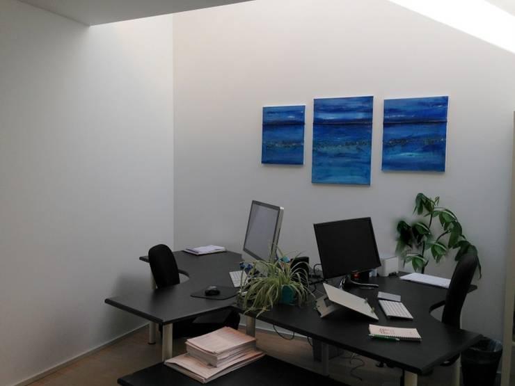 Bureau: Bureau de style  par Bureau d'Architectes Desmedt Purnelle