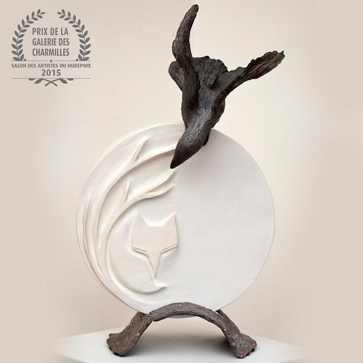 Le corbeau et le renard: Art de style  par Nathalie Landot