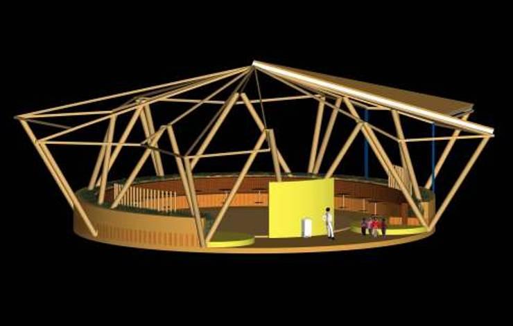 BIBLIOTECA INFANTIL:  de estilo  por arquitectura sostenible colombia