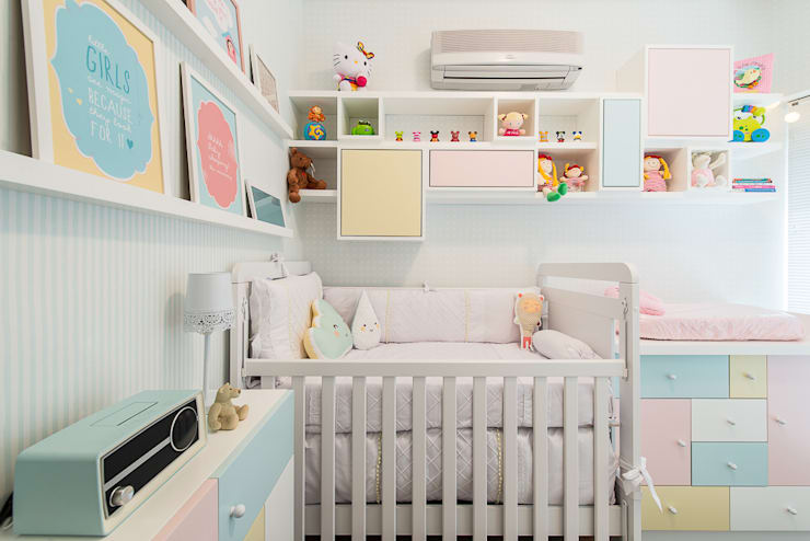 QUARTO INFANTIL: Quarto infantil  por Locus Arquitetura,