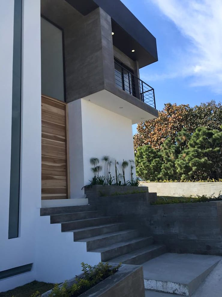 BOSQUES DE BUGAMBILIAS: Casas de estilo  por Arki3d