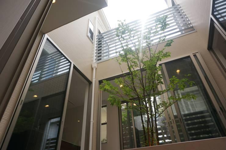 中庭: DIOMANO設計が手掛けた庭です。