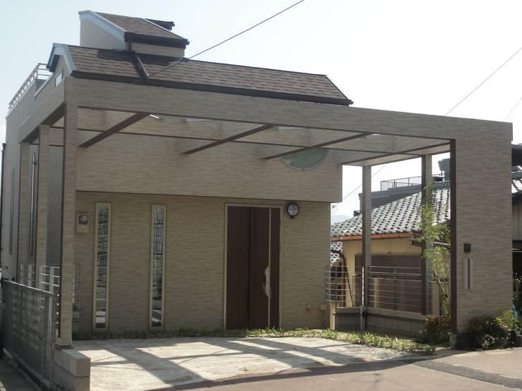 エントランス: DIOMANO設計が手掛けた家です。