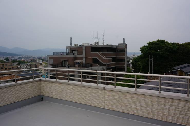 屋上: DIOMANO設計が手掛けた家です。