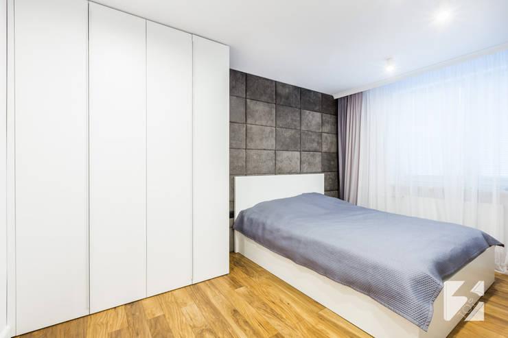 Sypialnia w realizacji 3TOP Meble: styl , w kategorii Sypialnia zaprojektowany przez 3TOP