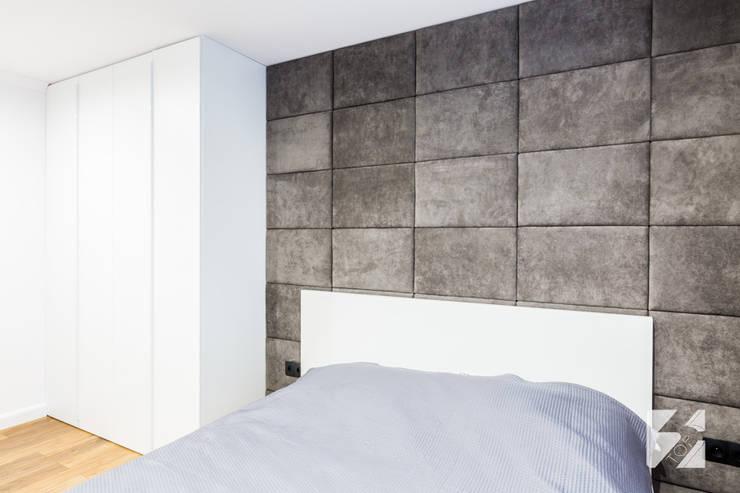 Sypialnia w realizacji 3TOP Meble: styl , w kategorii  zaprojektowany przez 3TOP,Nowoczesny
