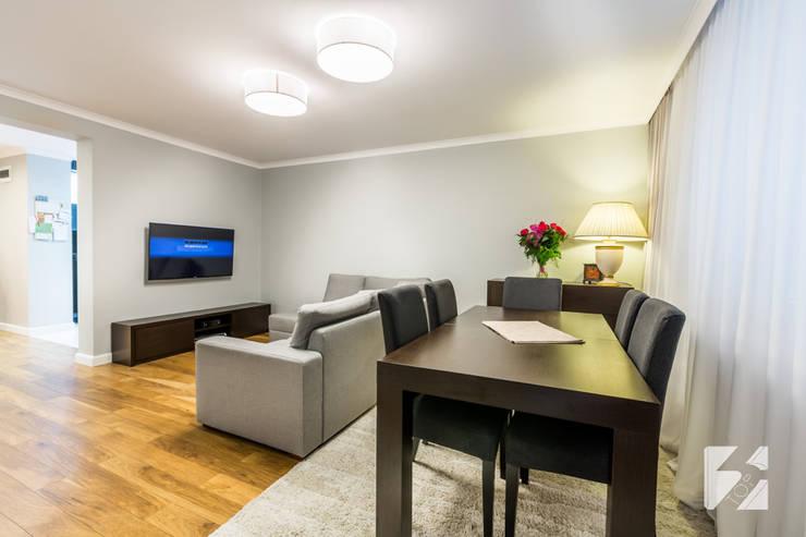 Meble na wymiar do mieszkania: styl , w kategorii Salon zaprojektowany przez 3TOP