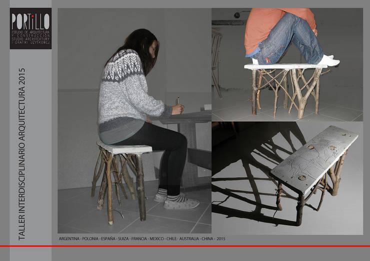 Lover 21: Estudio de estilo  por arquitectos portillo