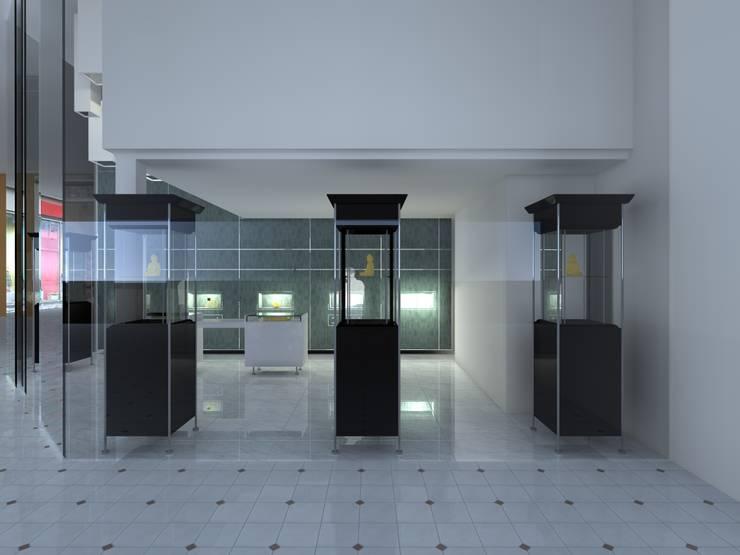 Joalharia Luboia | Luanda/Angola: Lojas e espaços comerciais  por Joana Neto | Interiores