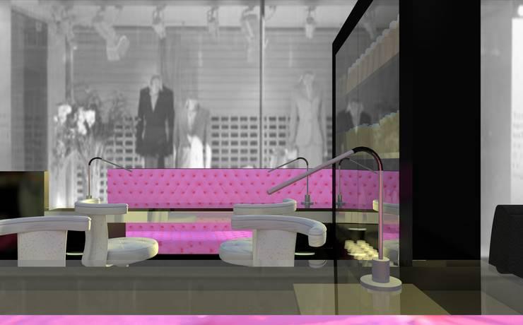 Miss Frou Frou – Beauty & Nail Care: Lojas e espaços comerciais  por Joana Neto   Interiores