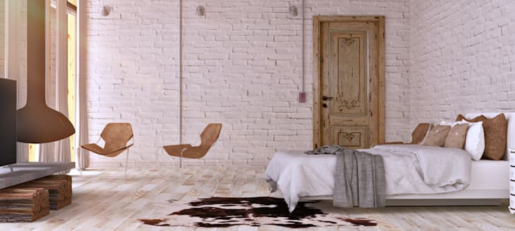 Industrial Room: Quartos  por Antony Simões Studio