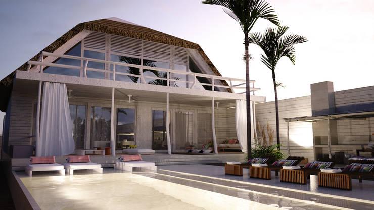 Beach House, Luanda: Casas  por Antony Simões Studio