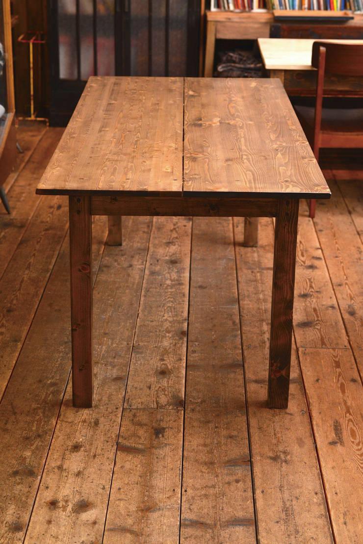 テーブル: LEAVESが手掛けたダイニングルームです。