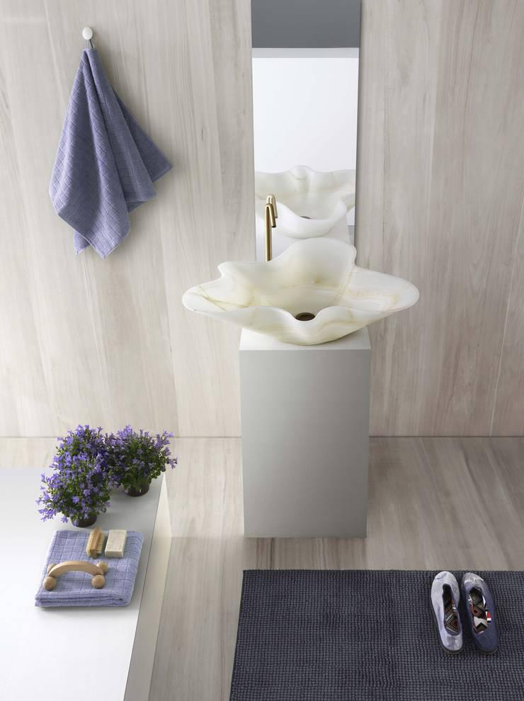 Projekty,  Łazienka zaprojektowane przez Kreoo,