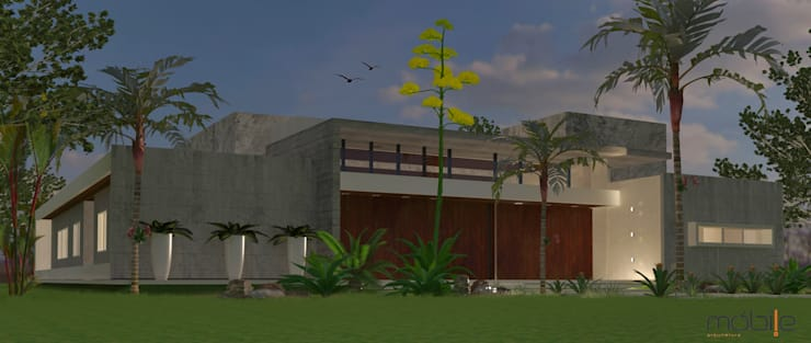 RESIDENCIA 012 -  ITUMBIARA -GO:   por Mobile Arquitetura,