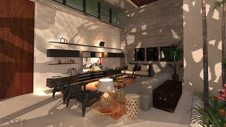 RESIDENCIA 012 –  ITUMBIARA -GO:   por Mobile Arquitetura,