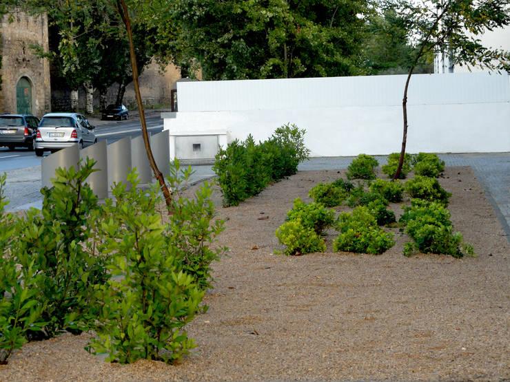 庭院 by Atelier Jardins do Sul, 隨意取材風