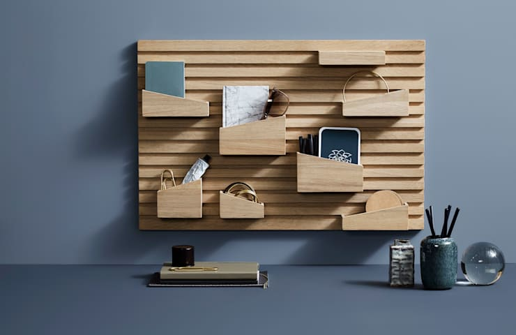 scandinavian Study/office by HELSINKI DESIGN
