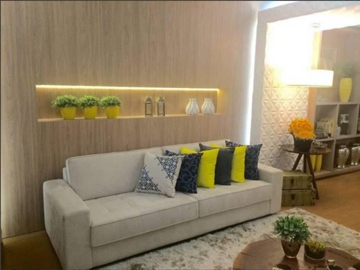 Salones para eventos de estilo  por Beatrice Oliveira - Tricelle Home, Decor e Design, Moderno