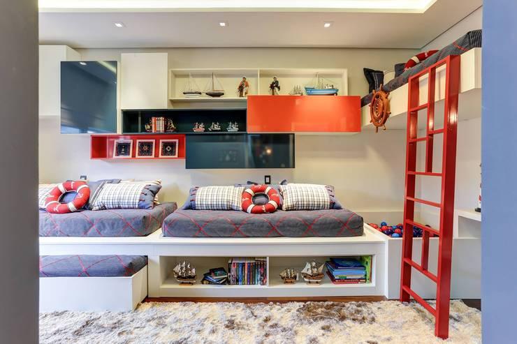 Детские комнаты в . Автор – PURA IDEIA ARQUITETURA