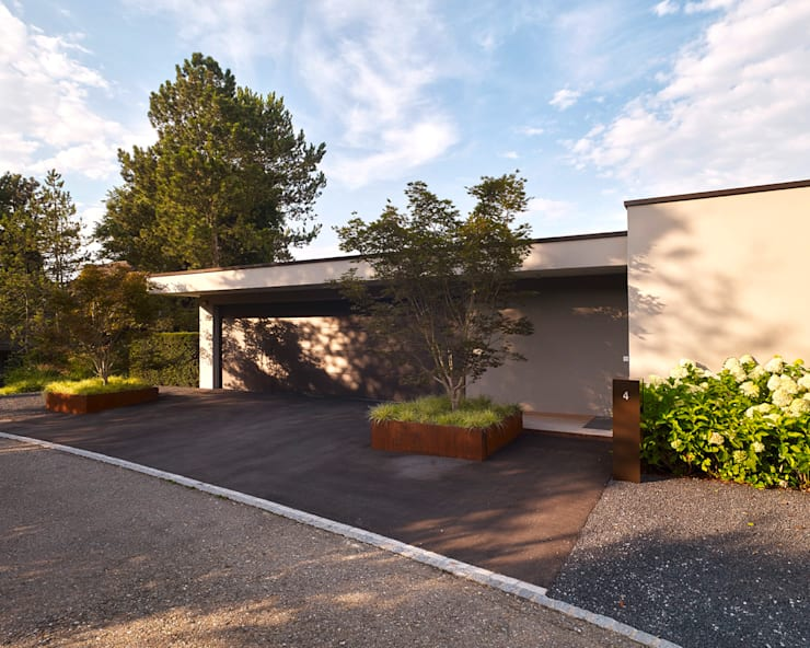 Garajes de estilo  de meier architekten zürich, Moderno