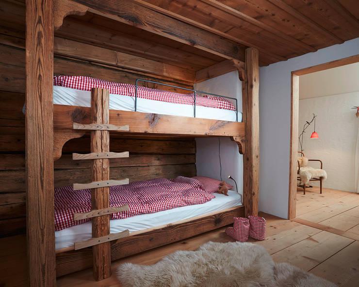 Projekty,  Pokój dziecięcy zaprojektowane przez meier architekten