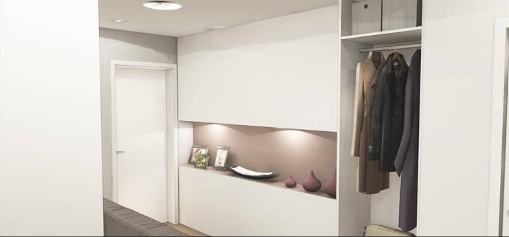 Koridor dan lorong by Architetto Jessica Vaghi