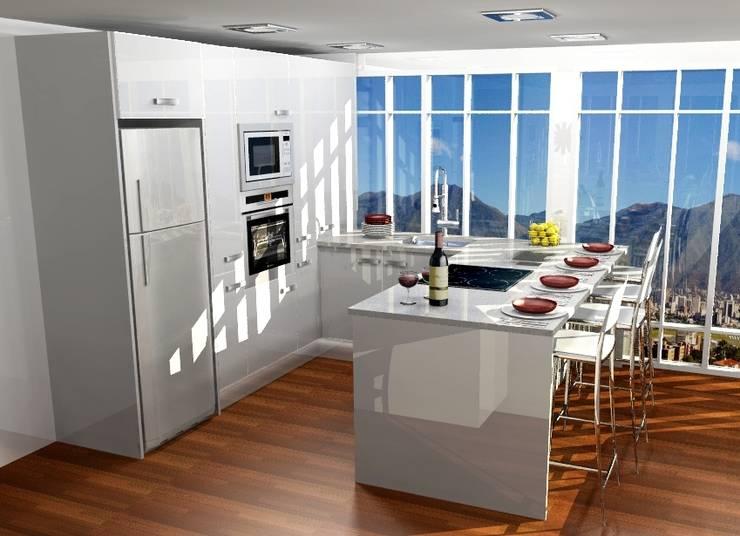 modern Kitchen by ARCE MOBILIARIO