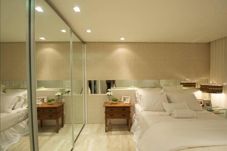 Giovanna Castagna Arquitetura Interiores: modern tarz Yatak Odası