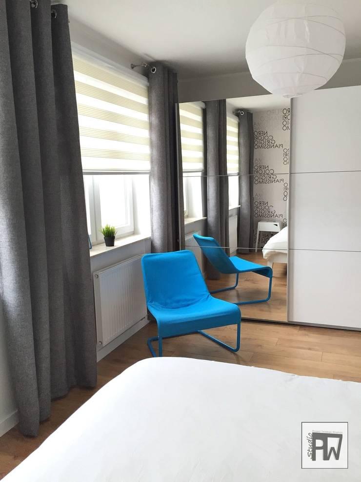 Skandinavische Schlafzimmer von PTW Studio Skandinavisch