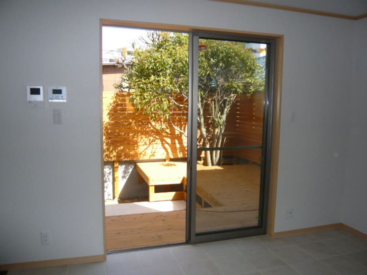 庭: DIOMANO設計が手掛けた庭です。,