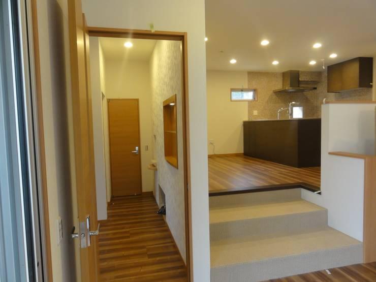 ダイニングキッチン: DIOMANO設計が手掛けたキッチンです。,