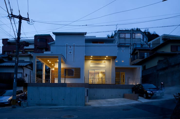 外観: DIOMANO設計が手掛けた家です。