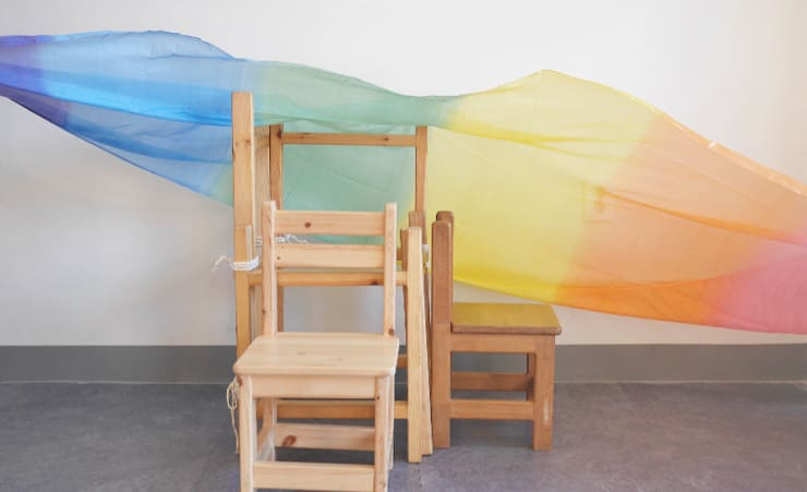 KN-511 놀이사다리SET: 나무모아의  아이 방