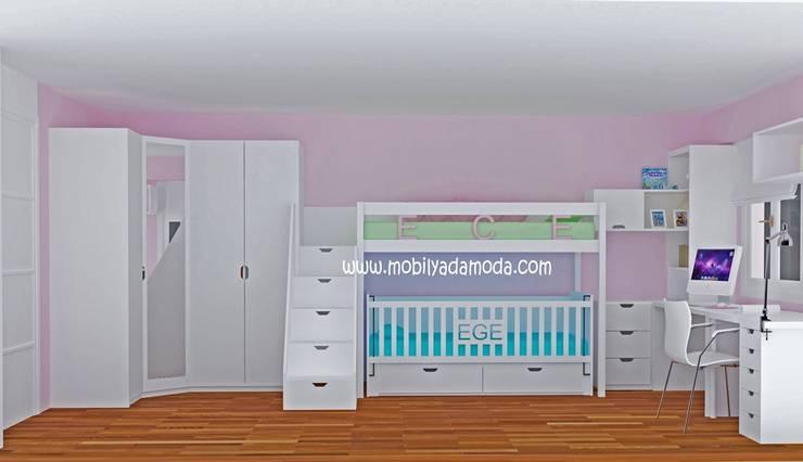 MOBİLYADA MODA  – Ece'nin Odası :  tarz Çocuk Odası, Modern Ahşap Ahşap rengi