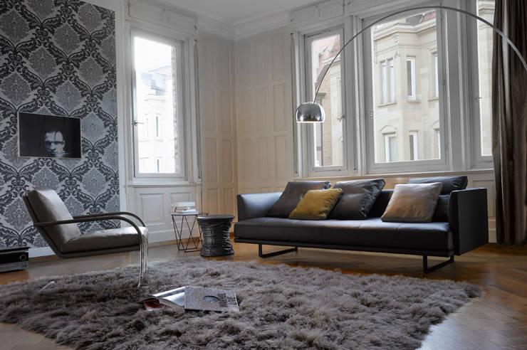 Walter Knoll:  Wohnzimmer von Zimmermanns Kreatives Wohnen