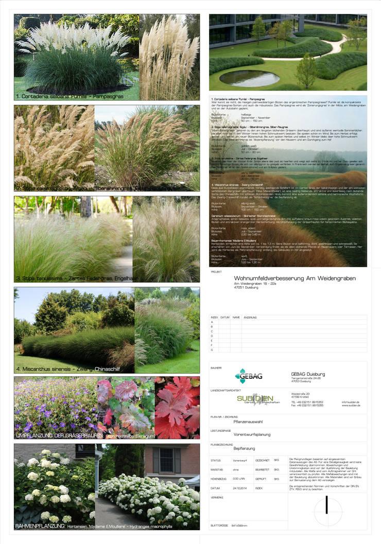 de SUD[D]EN Gärten und Landschaften Moderno