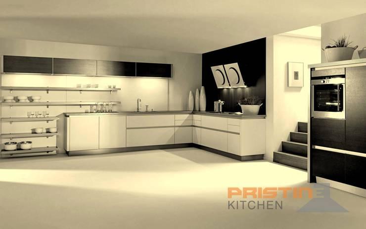 3D kitchen Designs: modern Kitchen by Pristine Kitchen