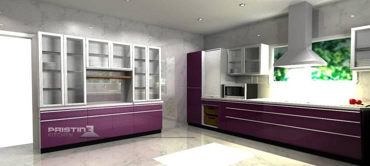 3D kitchen Designs:  Kitchen by Pristine Kitchen