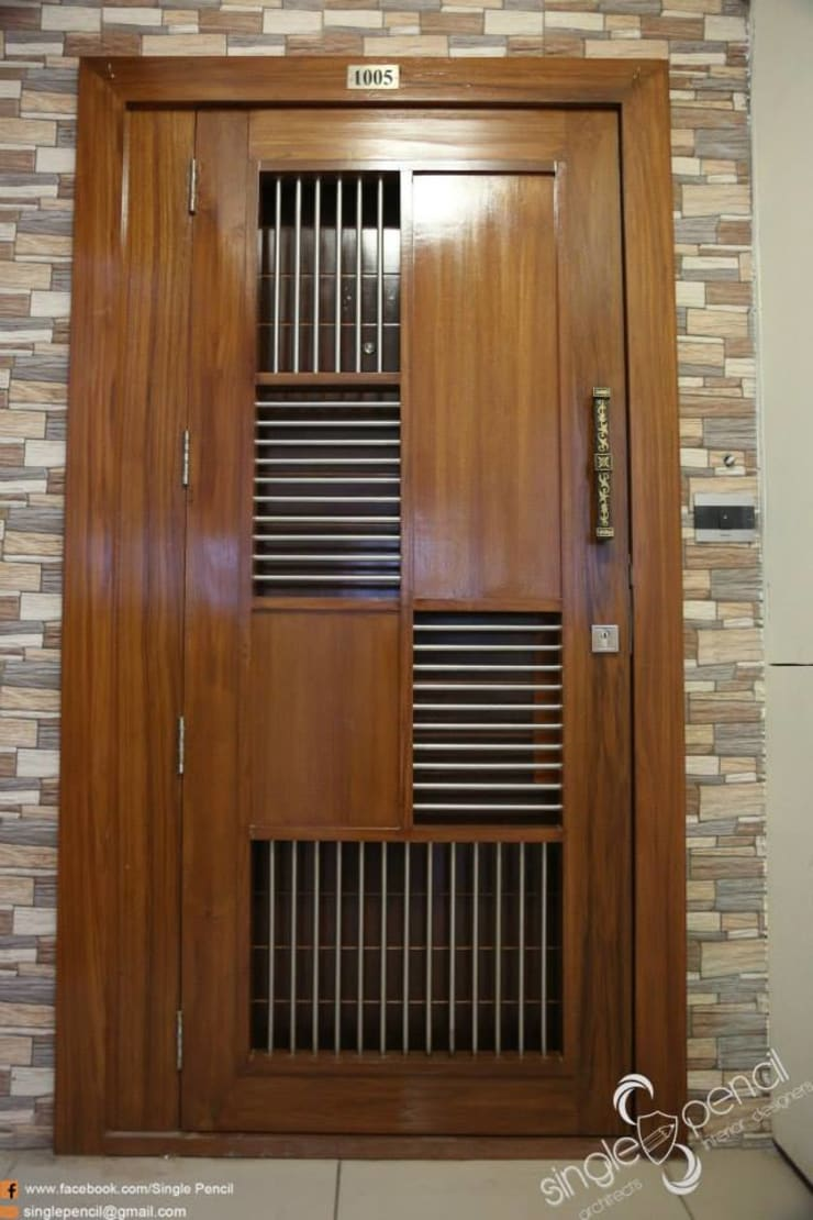 kishore residence :  Windows by single pencil architects & interior designers ,Modern