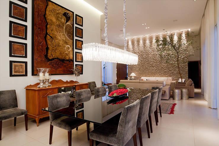 غرفة السفرة تنفيذ Maria Helena Caetano _ Arquitetura e Interiores