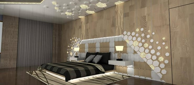 Bedroom designs:  Bedroom by single pencil architects & interior designers