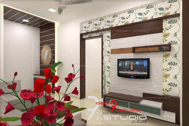 Salas / recibidores de estilo  por Desig9x Studio