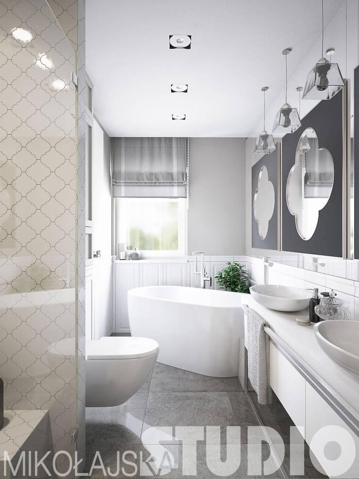 łazienka w stylu arabskim: styl , w kategorii  zaprojektowany przez MIKOŁAJSKAstudio