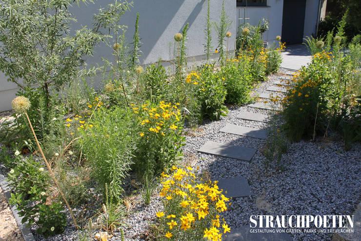 Projekty,  Ogród zaprojektowane przez Strauchpoeten