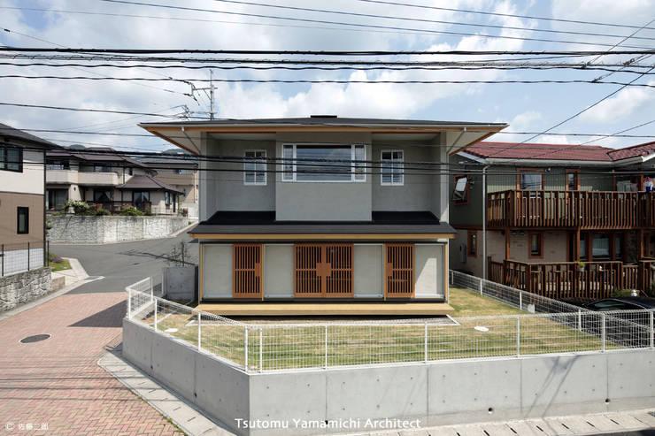 とけあういえ: 山道勉建築が手掛けた家です。,
