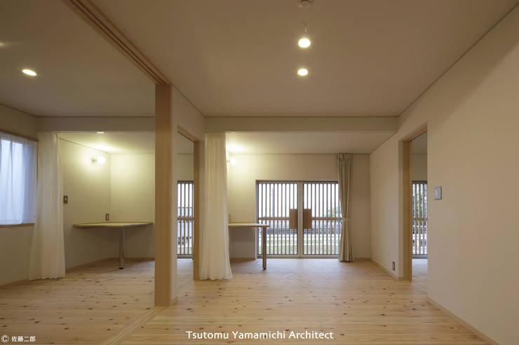 とけあういえ: 山道勉建築が手掛けたサンルームです。,