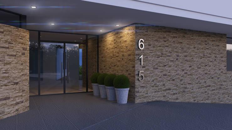 Edificio Chrestia: Ventanas de estilo  por D+D Studio,