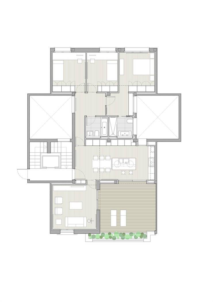 Reforma de vivienda ático en Valencia: Cocinas de estilo  de DG Arquitecto Valencia